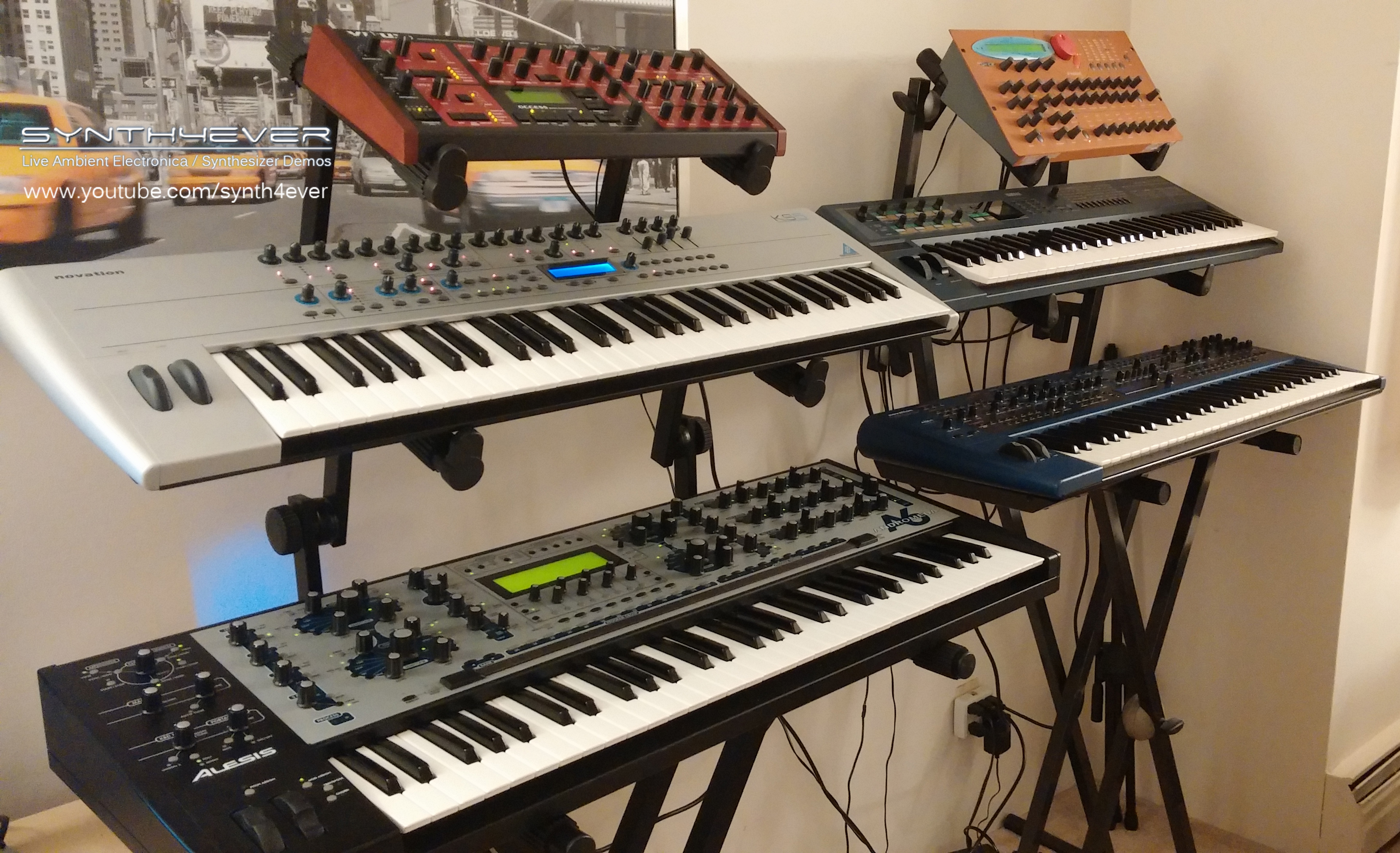 my synth studio   synth4ever